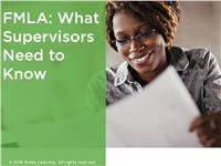 FMLA: What Supervisors Need to Know
